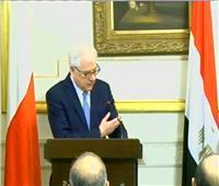 فيديو| وزير خارجية بولندا: مصر أحد أهم شركائنا في العالم