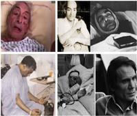 عن اللحظات الأخيرة فى حياة المشاهير.. 22 صورة تروي مأساة فنان