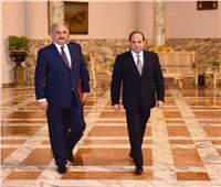 أبرزها دعم مكافحة الإرهاب والميليشيات المتطرفة.. تفاصيل لقاء الرئيس السيسي بـ«حفتر»