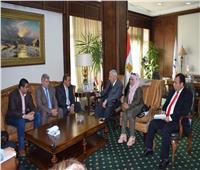 رئيس الأعلى للإعلام يلتقى وفداً من الصحفيين الفلسطينيين