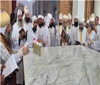 تدشين كنيسة القديس مكاريوس الإسكندري بمنطقة وادي الريان بالفيوم