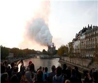 الآثار تعلن تضامنها مع باريس بعد حريق كنيسة «نوتردام»