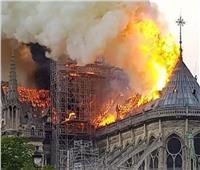 الثقافة تعلن تضامنها مع الشعب الفرنسي في حريق كاتدرائية نوتردام