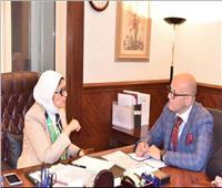 وزيرة الصحة تؤكد مساندة مصر لـ«كينيا» في إقامة المؤتمر الدولي للسكان
