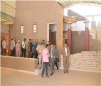 إزالة 4 حالات تعد بالبناء على أرض زراعية ببني مزار بالمنيا