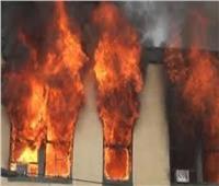الدفع بسيارتين إطفاء للسيطرة على حريق شقة سكنية بالقليوبية