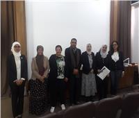 صور| بحوث وابتكارات في منتدى طلاب كلية الفنون التطبيقية بجامعة حلوان