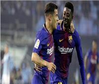 مدرب برشلونة في حيرة بين «ديمبلي» و«كوتينيو»