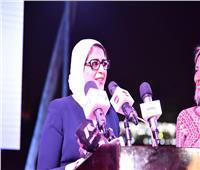 وزيرة الصحة: المستشفى العائم عالج 55 ألف سيدة وطفل في الصعيد بالمجان
