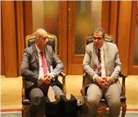 تفاصيل لقاء وزير القوي العاملة مع وكيل وزارة العمل الفلسطيني