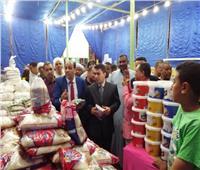 افتتاح باكورة معارض «أهلاً رمضان» بالأقصر في مدينة البياضية