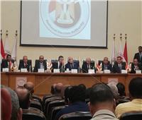 بدء المؤتمر الصحفي للوطنية للانتخابات لإعلان مواعيد استفتاء التعديلات الدستورية