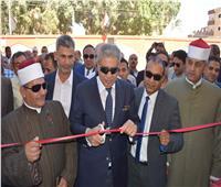 محافظ المنيا يفتتح 4 مشروعات خدمية بـ3 مراكز