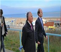 وزير الري يزور عددا من مشروعات حماية الشواطئ بهولندا