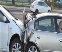 إصابة شخصين في حادث تصادم بطريق الإسكندرية الصحراوي