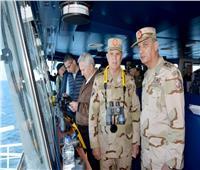 وزراء دفاع مصر واليونان وقبرص يشهدون التدريب المشترك «ميدوزا -8»