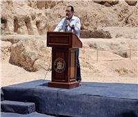 رئيس الوزراء: رسومات أجدادنا الفراعنة تدل على إمكانيات عالية