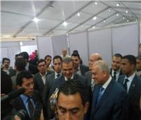 صور| وزيرا الشباب والقوى العاملة يشاركان في ملتقى توظيف الجيزة