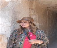 شاهد.. يسرا وليلى علوي في حضرة عظمة الآثار في الأقصر