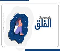 إنفوجراف | علامات وأعراض القلق المرضي.. تعرف عليها
