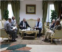 محافظ جنوب سيناء يستقبل وفدا من وزارة الخارجية
