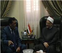 مفتي الجمهورية يستقبل السفير الأثيوبي لبحث تعزيز التعاون