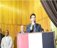 صبحي:  تعظيم دور الشباب في التنمية الاقتصادية والاجتماعية