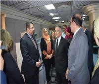 الشريف وقمصان يشيدان بمركز رصد الاستفتاء بـ«الأعلى للإعلام»