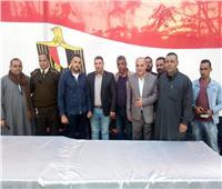 مؤتمر جماهيري للدعوة بالمشاركة في الاستفتاء على الدستور