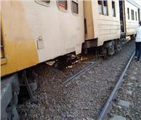 شهود عيان يروون تفاصيل خروج قطار كفر الشيخ عن القضبان