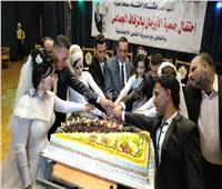 صور| محافظ البحيرة يشهد حفل زفاف جماعي لـ5 عرائس أيتام بدمنهور