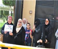 صور| سيدات مصر يشاركن في الاستفتاء على التعديلات الدستورية
