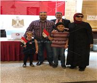 بالصور| المصريون يستفتون على التعديلات الدستورية في قنصلية مصر بجدة