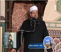 فيديو| وزير الأوقاف يوضح «الدروس والعبر من تحويل القبلة» بخطبة الجمعة