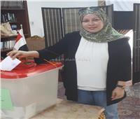 نائب رئيس جامعة البحرين تدلي بصوتها في التعديلات الدستورية