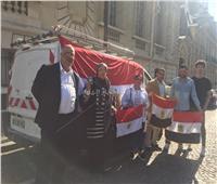 صور| توافد المصريين بفرنسا للمشاركة في الاستفتاء على التعديلات الدستورية