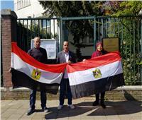 توافد المصريين بهولندا للمشاركة في الاستفتاء على التعديلات الدستورية