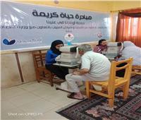 «صناع الخير» تقدم خدمات طبية مجانية لـ١٠٠٠ مواطن بالإسماعيلية والأقصر