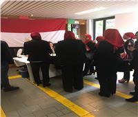 إقبال كثيف من الجالية المصرية بميلانو على التعديلات الدستورية