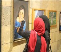 صور| معرض شباب الأزهر بـ«بيت السناري» يشهد إقبالا كبيرًا