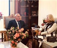 «الجامعة العربية» تبحث مع رئيس الهيئة الوطنية للانتخابات إجراءات المتابعة