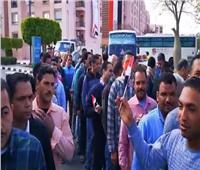 التعديلات الدستورية 2019  توافد المواطنين على مقار الاستفتاء بالرحاب