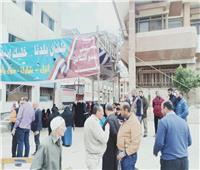 لجان الاستفتاء تفتح أبوابها أمام المواطنين بدمياط