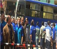 تخصيص أتوبيسات لنقل المواطنين لمقار اللجان في الشيخ زويد ورفح