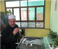 بعد الإدلاء بصوته.. وزير الأوقاف: مصر تسير إلى الأمام