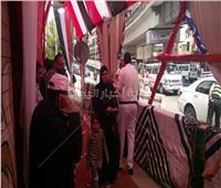 بالصور| اقبال من كبار السن والسيدات بإحدى لجان الاستفتاء في بولاق أبوالعلا