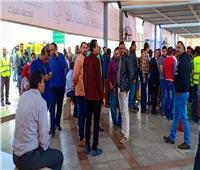 تواجد كثيف للمسافرين والعاملين للإدلاء بأصواتهم في «لجنة مطار القاهرة»
