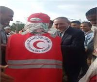أسرة الهلال الأحمر بجامعة قناة السويس توفر التأمين الطبي للناخبين