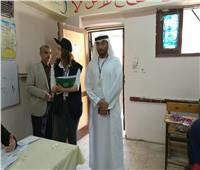 صور| وفد البرلمان العربي يتفقد لجان المعادي