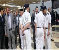 مدير أمن المطار يتفقد لجان الاستفتاء بمطار القاهرة